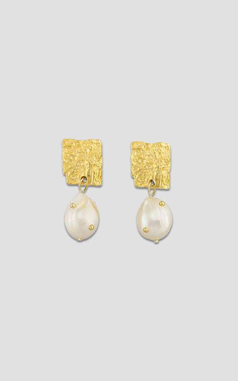 Jolie & Deen - Nicole Earrings in Gold