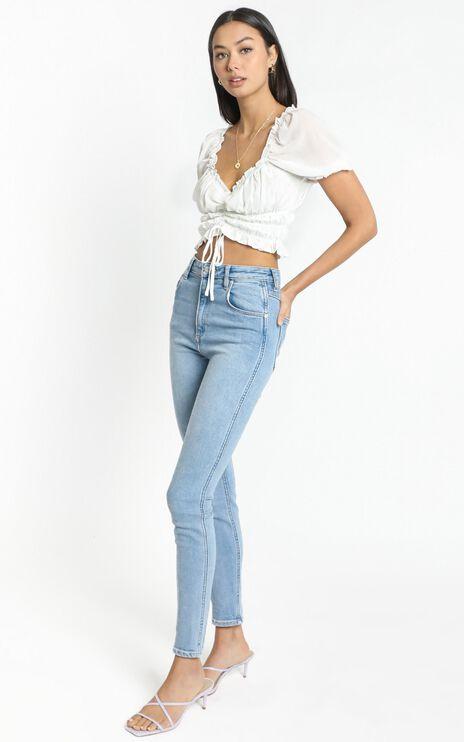 Lylou Top in White