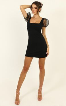 Inner Wild Child Dress In Black