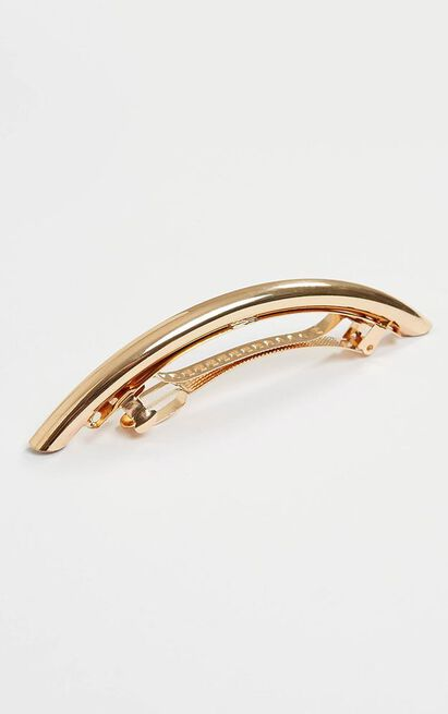The Two Of Us Hair Clip In Rose Gold, , hi-res image number null