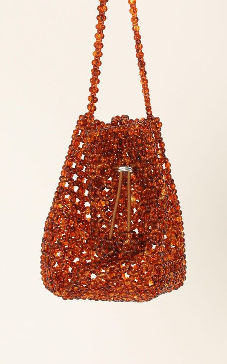 Summer Air Beaded Bag In Tort