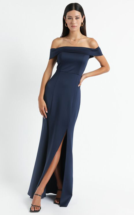 We Got This Feeling Dress In Navy