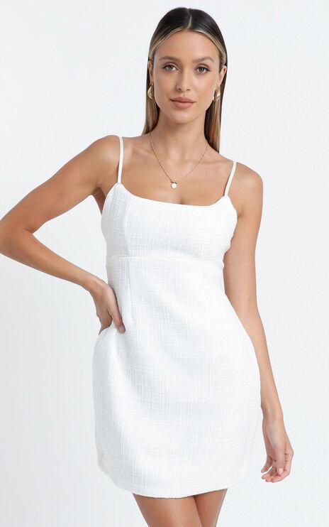 Elkin Dress in White