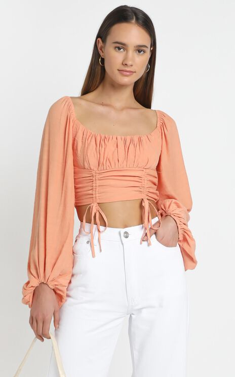 Ophelia Top in Terracotta