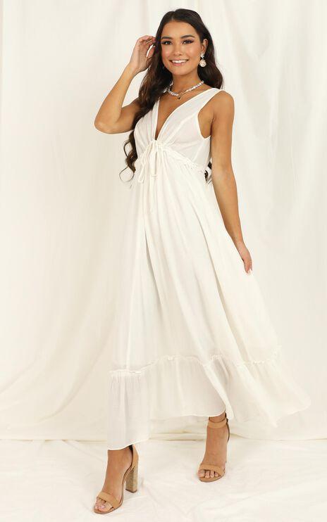 World Traveller Dress In White