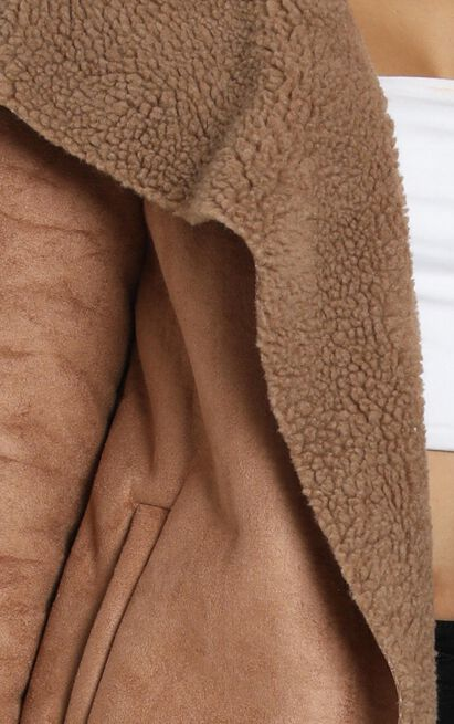 Mornings End Coat in camel - 20 (XXXXL), Camel, hi-res image number null