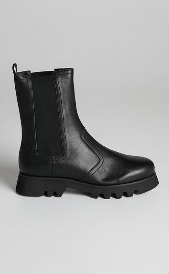 Tony Bianco - Izzy Boots in Black Como