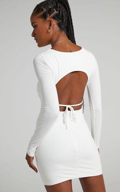 Claudie Dress in White