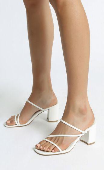 Billini - Yazmin Heels in White
