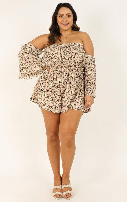 Myths and Legends Playsuit in cream - 20 (XXXXL), Cream, hi-res image number null