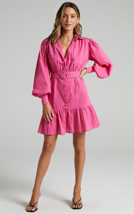 Turella Dress in Pink