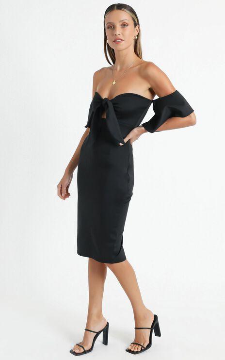 Guest Edit Dress in Black