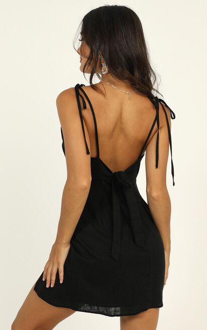 Santa Monica Stroll dress in black - 20 (XXXXL), Black, hi-res image number null