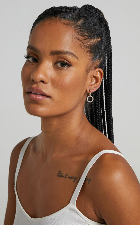 Keerah Earrings in Gold