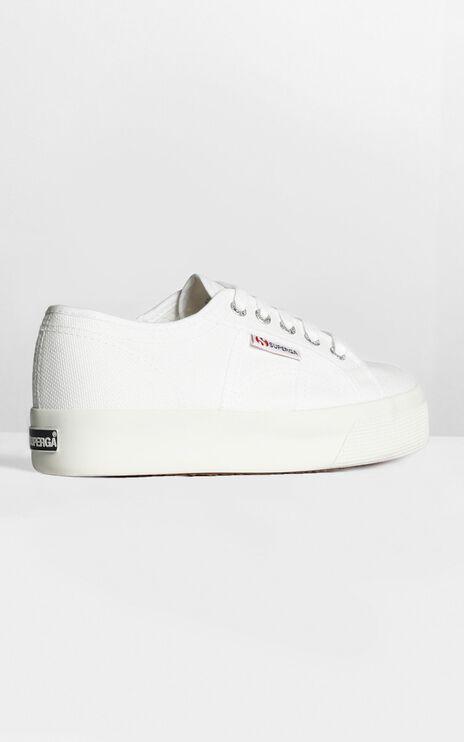Superga- 2730 Cotu Sneakers In White Canvas