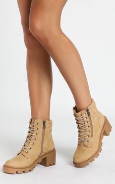 Therapy - Ryder Boots In Camel