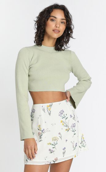 Only Offer Skirt in Botanical Floral