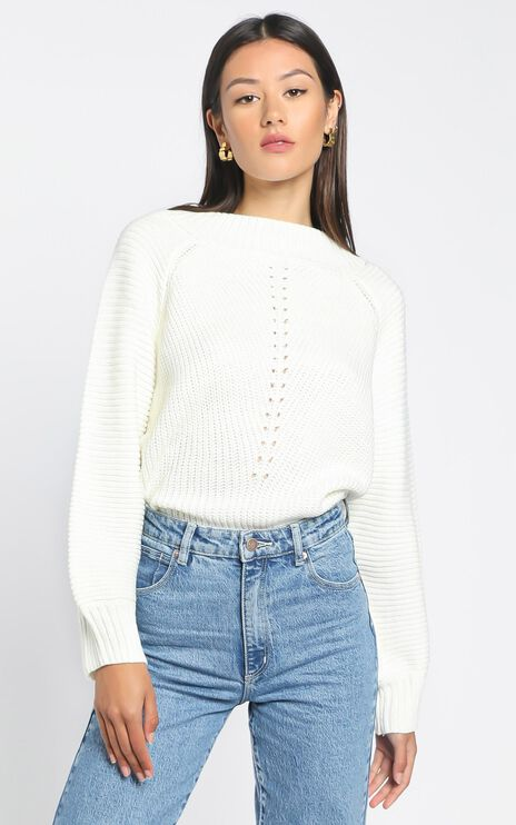 Keris Jumper in White