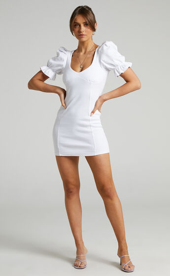 Runaway The Label - Sidney Dress in White
