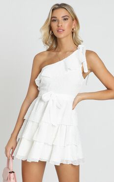 Darling I Am A Daydream Dress In White