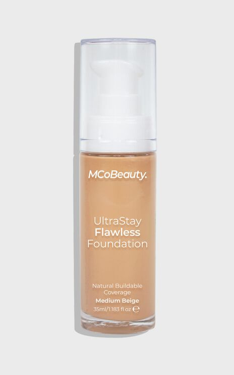 MCoBeauty - Ultra Stay Flawless Foundation - Medium Beige