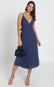 Nixie Dress In Blue