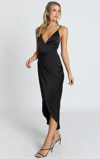 Shes A Dreamer Dress in black - 14 (XL), Black, hi-res image number null