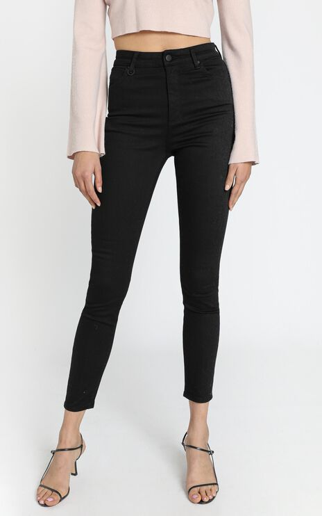 Neuw - Marilyn Skinny Jeans in Midnight Black