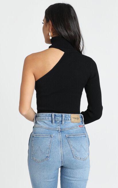 Franco Knit Top in black - L, Black, hi-res image number null