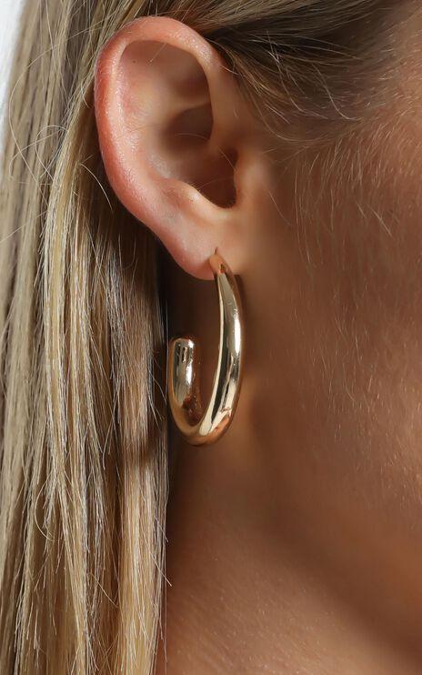 Apsel Earrings in Gold