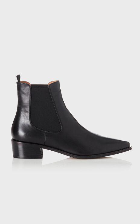 Alias Mae - Yasmyn Boots in Black Burnished