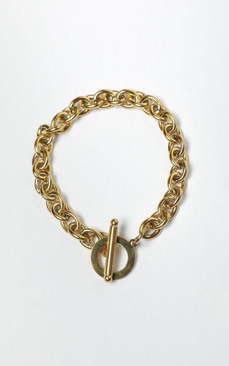 Sazan Bracelet in Gold