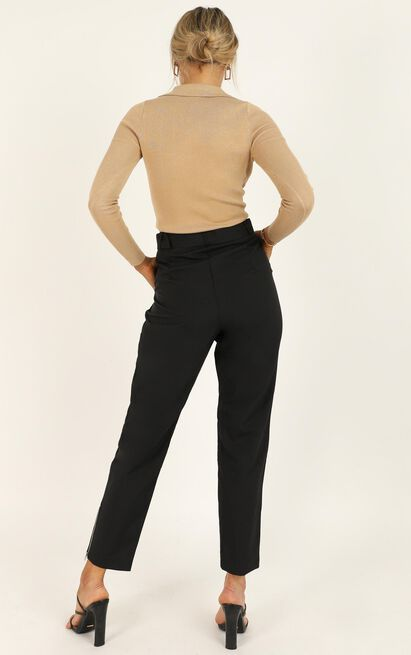 Field Trip Pants in black - 20 (XXXXL), Black, hi-res image number null