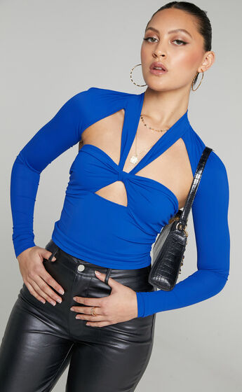 Lioness - Miracle Mile Top in Royal Blue