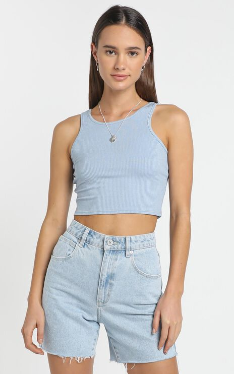 Dona Top in Blue