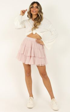 Latest Find Skirt In Blush Check