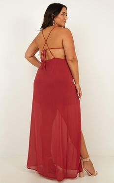 Night About You Dress In Dusty Rose