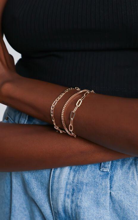 Yolanda Bracelet Set in Gold