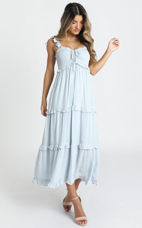 Good For The Soul Dress In Blue
