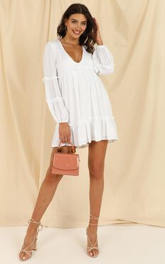Summer Soul Dress In White