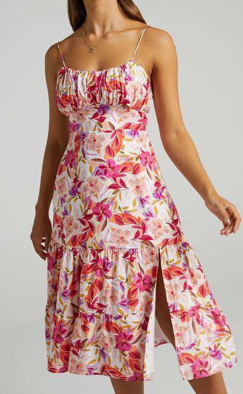 Monaco Dress in Eventful Bloom
