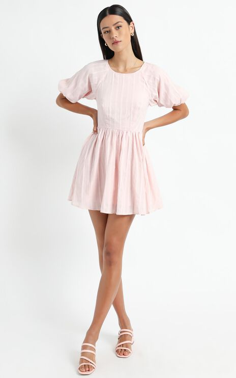 Cherie Dress in Blush