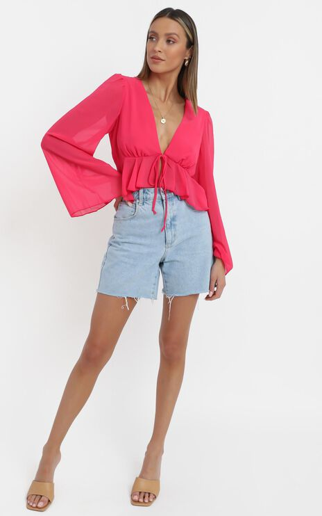 Dance It Out Top in Berry