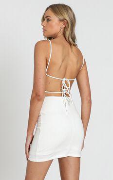 Costa Rica Dress In White