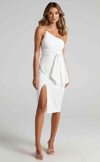 Where And When Dress in White