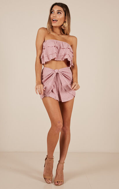 Kira Two Piece Set in mauve - 12 (L), Mauve, hi-res image number null