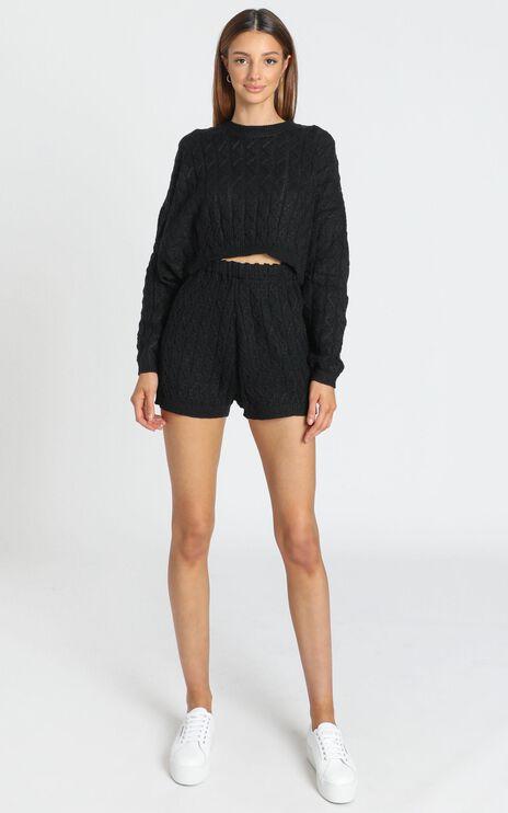 Jenna Two Piece Set in Black