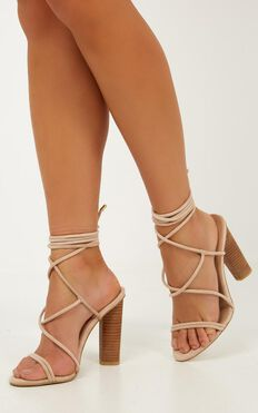 Billini - Levina Heels In Blush Micro