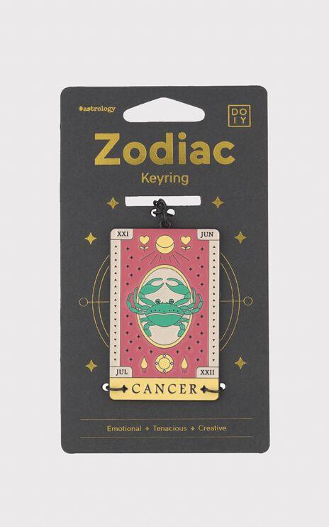 Doiy - Zodiac Keychain in Cancer
