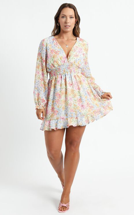 Pretty As You Dress in Multi Floral